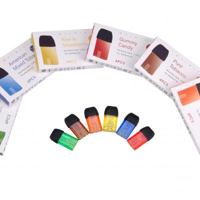 Colourful Disposable Vape Liquid Cartridges