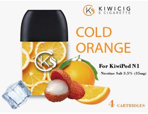Cold Orange vape refills for Kiwipod N1 electronic vape device device