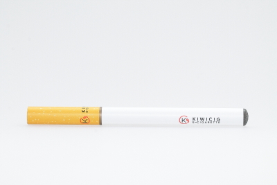 Disposable KiwiCig with white Battery