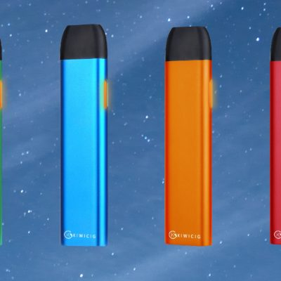 6 colourful KiwiPod batteries